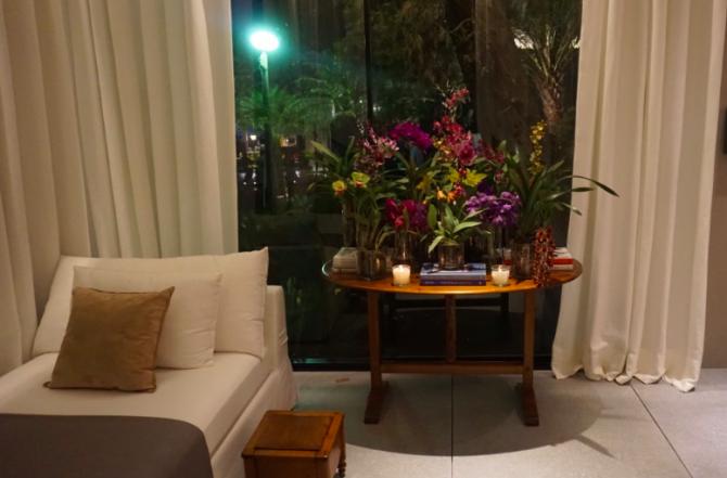 casa cor 2016 - Living e Jardim de inverno dado castello branco