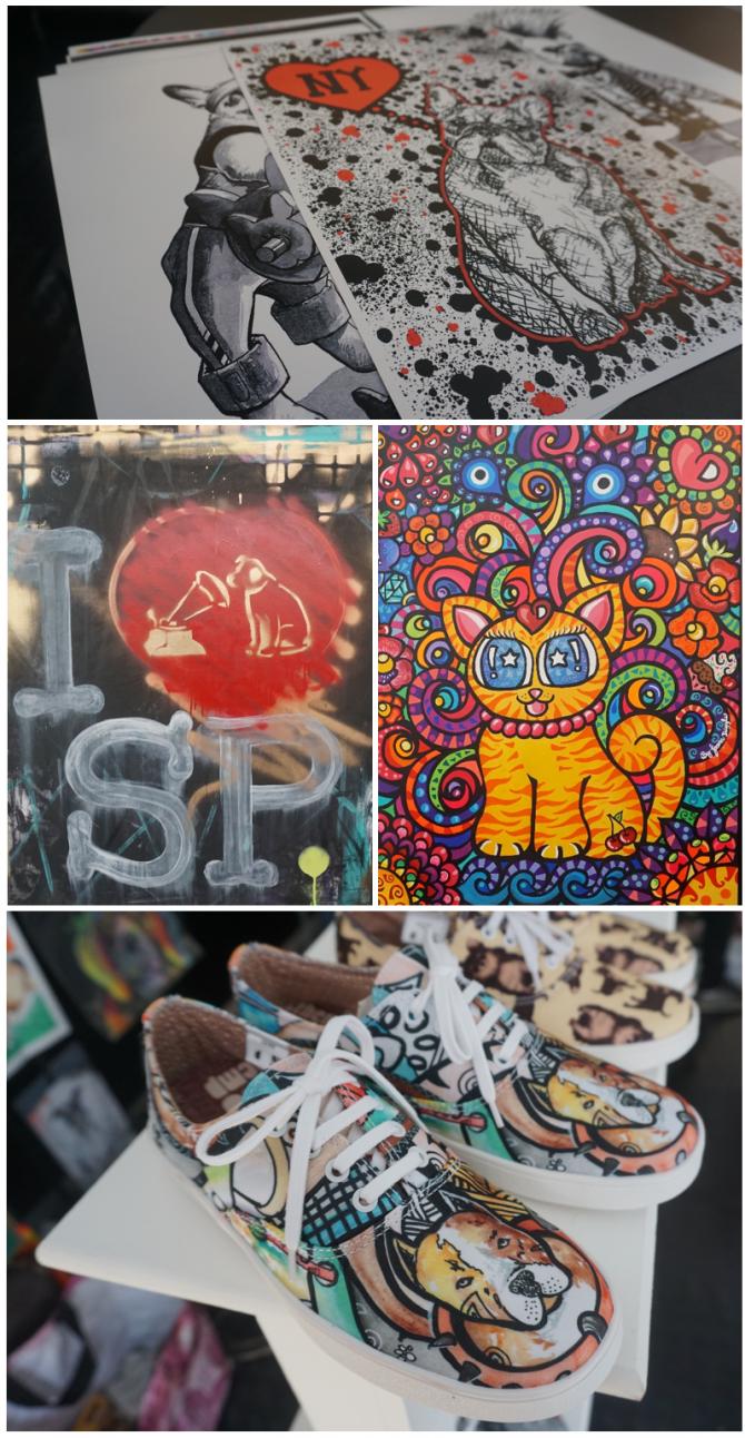 Arte super bacana inspirada em animalzinhos de estimação, by Pet Art Crew - Fabio Polesi. Amei!!!
