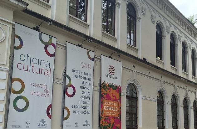 Oficina Cultural Oswald de Andrade, onde tem vários cursos gratuitos