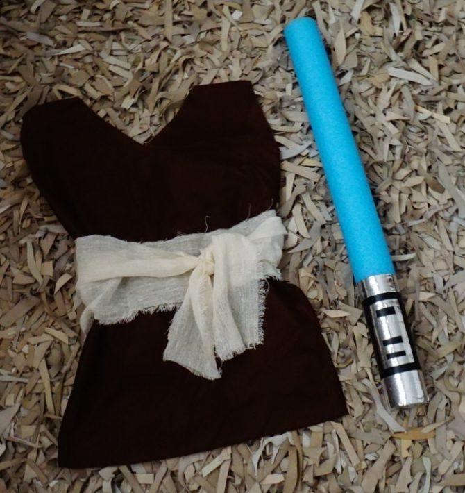 Espada de jedi do Star Wars.