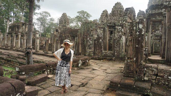 Acerte no dresscode, pois você corre o risco de não poder entrar e perder um lugar incrível como Angor Wat.