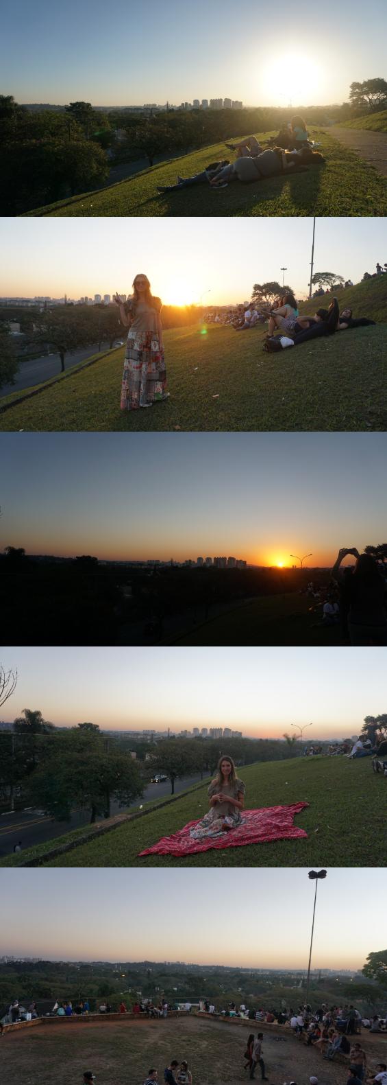Praça pôr do sol, vila madalena/SP. Saia da rotina e visite sua cidade e descubra vistas incríveis. by Fefê Rosada do Up na Vidinha.